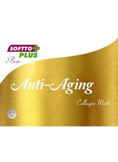 Softto Plus Yaşlanma Karşıtı Kolajen Maske 2 Adet Renksiz